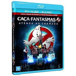 Blu-Ray 3D + Blu-Ray Caça-Fantasmas: Atenda Ao Chamado