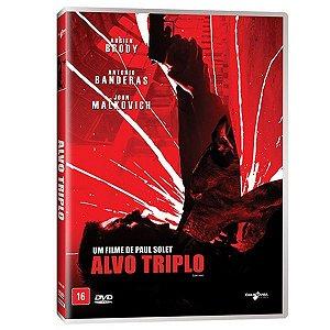 DVD Alvo Triplo - Adrien Brody