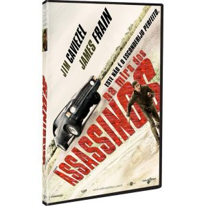 DVD Na Mira dos Assassinos - Jim Caviezel