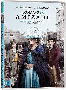 DVD - Amor e Amizade - Kate Beckinsale