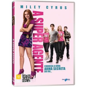 DVD - A Super Agente - Miley Cyrus