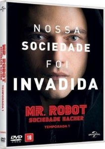 DVD Mr. Robot - Sociedade Hacker - 1ª Temporada