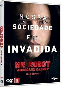 DVD Mr. Robot - Sociedade Hacker - 1ª Temporada