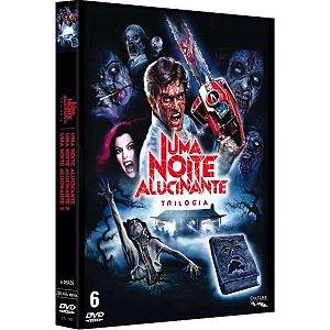 Box Dvd - Trilogia - Uma Noite Alucinante (6 Discos)