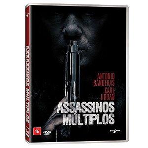 DVD - Assassinos Múltiplos - Antonio Banderas