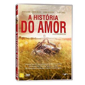 DVD - A História do Amor - Gemma Arterton