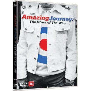 DVD Duplo Amazing Journey - The Story Of The Who
