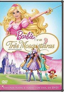 DVD Barbie E As Três Mosqueteiras