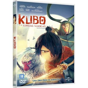 DVD Kubo e as Cordas Mágicas