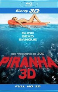 Blu-ray 3D/2D - Piranha