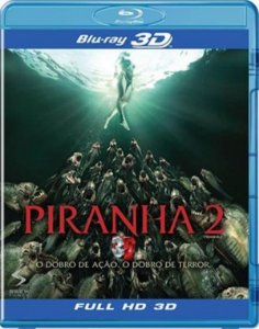 Blu-Ray 3D/2D Piranha 2