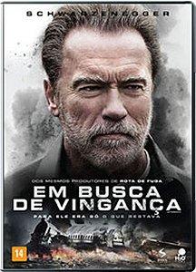 DVD Em Busca De Vingança - Schwarzenegger