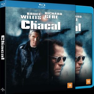 Blu-ray O Chacal (The Jackal) - Bruce Willis (EXCLUSIVO COM LUVA)