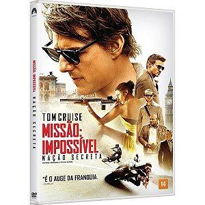 DVD Missao Impossivel - Naçao Secreta