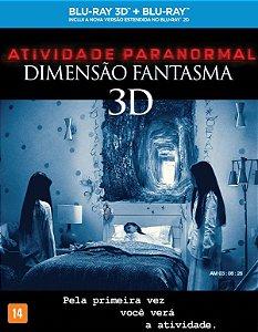 Blu-Ray 3D + Blu-Ray Atividade Paranormal - Dimensão Fantasma