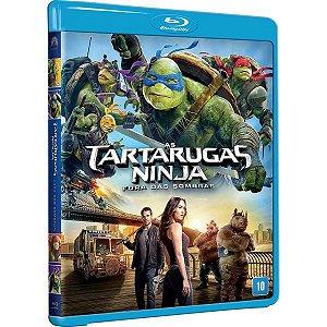 Blu-Ray As Tartarugas Ninja - Fora Das Sombras