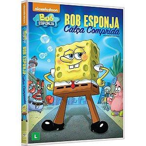 Dvd - Bob Esponja: Calça Comprida