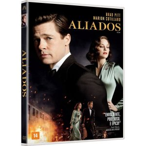DVD - Aliados - Brad Pitt