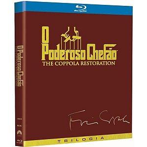 Blu-ray Trilogia O Poderoso Chefão -The Coppola Restoration - 3 Discos