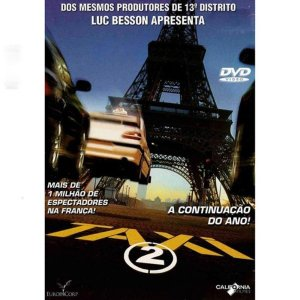 DVD TAXI 2 - Luc Besson