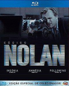 Box Código Nolan - Blu-Ray