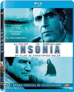 Blu-ray Insônia - Christopher Nolan pré venda 15/10/20
