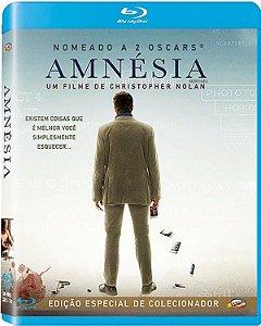 Blu-ray Amnesia - Christopher Nolan pré venda 15/10/20