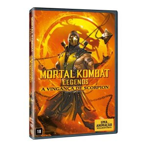 DVD Mortal Kombat Legends: A Vingança de Scorpion