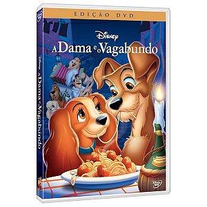 DVD A Dama e o Vagabundo - Disney