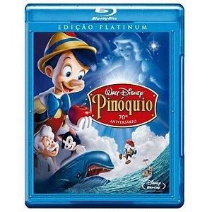 Blu-ray - Pinóquio - Edição Platinum