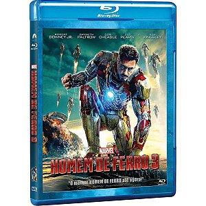 Blu-Ray - Homem de Ferro 3