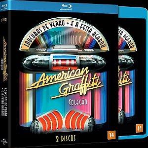 Blu Ray Duplo Coleção American Graffiti - (EXCLUSIVO COM LUVA)
