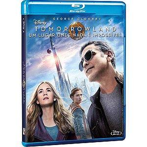 Blu-Ray - Tomorrowland - Um Lugar Onde Nada é Impossível