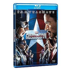 Blu-ray - Capitão América - Guerra Civil
