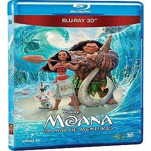 Blu-Ray 3D Moana - Um Mar de Aventuras