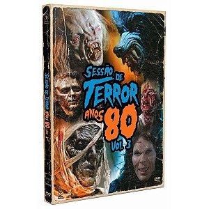 DVD Sessão de Terror Anos 80 Vol. 3