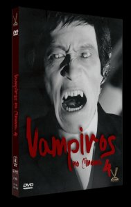 Dvd Box Vampiros no Cinema Vol. 4
