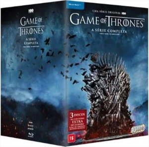 Blu-Ray Box Game of Thrones - Série Completa - 33 discos