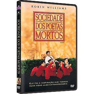 DVD Sociedade dos Poetas Mortos - Robin Williams