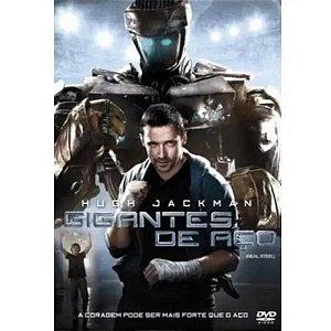 Dvd - Gigantes De Aço - Hugh Jackman
