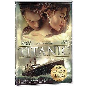 DVD Duplo - Titanic  - Leonardo DiCaprio