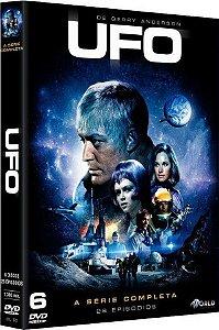 Box Dvd: UFO A Série Completa (6 Discos)