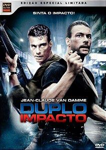 Dvd Duplo Impacto Van Damme ( 2 discos )