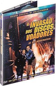 Dvd A Invasão Dos Discos Voadores - Ed Especial