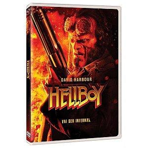 DVD - HellBoy - Mande Tudo Para o Inferno