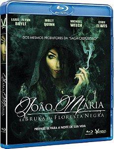 Blu-ray - João, Maria e a Bruxa da Floresta Negra