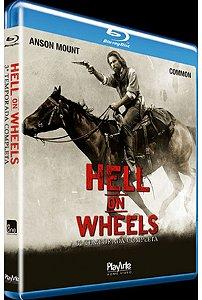 Blu-Ray - Hell On Wheels - 3° Temporada
