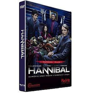 Dvd - Hannibal - Primeira Temporada - Vol. 1 (2 Discos)
