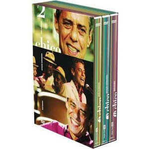 Dvd Box  Chico Buarque 2  3 Discos