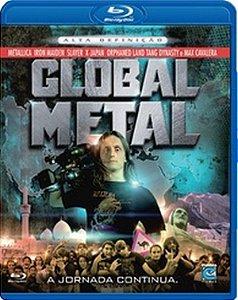 Blu Ray Global Metal - A Jornada Continua